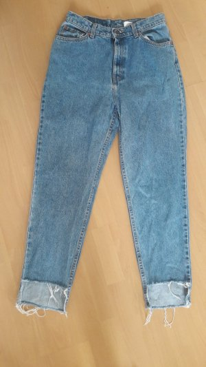Levi's 512 Slim fit Momjeans Jeans Denim Vokuhila Highlow Mom