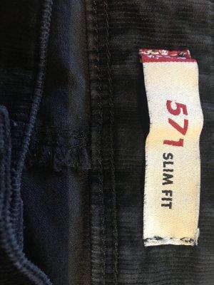 Levi's Pantalone di velluto a coste nero