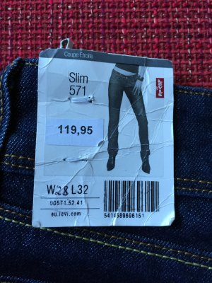 Levi's 573 Slim fit Jeans Größe 28/32 (neu)