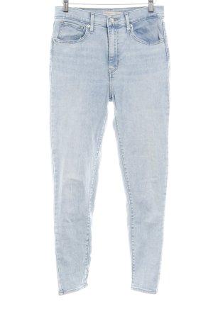 Levi's Jeans a 7/8 azzurro stile casual