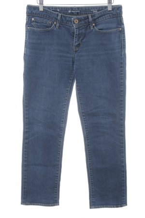 Levi's Jeans 7/8 bleu acier style décontracté
