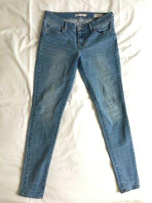 Levi's Jeans skinny azzurro Cotone