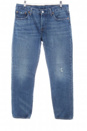Levi's Baggy Jeans cornflower blue casual look