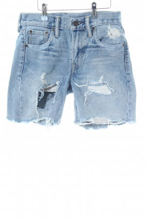Levi's Bermuda blau Street-Fashion-Look