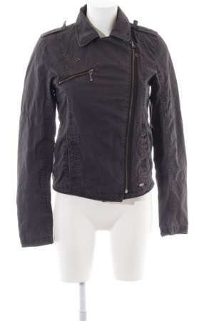 Levi's Bikerjacke anthrazit Casual-Look