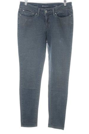 Levi's Biker jeans grijs-petrol gestippeld Biker-look