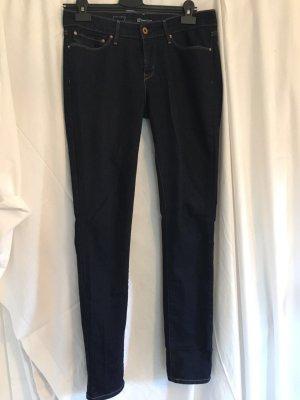 Levi's Low Rise jeans donkerblauw Katoen