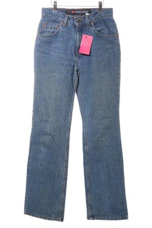 Levi's Boot Cut spijkerbroek blauw casual uitstraling