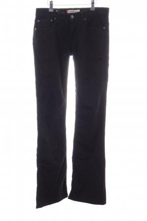 Levi's Boot Cut Jeans schwarz-braun Casual-Look