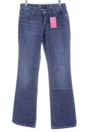 Levi's Boot Cut Jeans blau Jeans-Optik