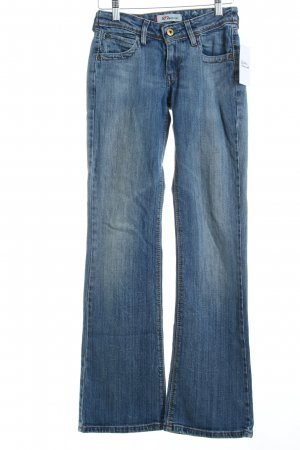 Levi's Boot Cut Jeans blau Jeans-Optik