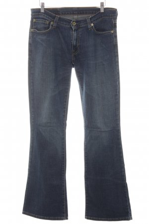 Levi's Boot Cut Jeans blue flecked casual look