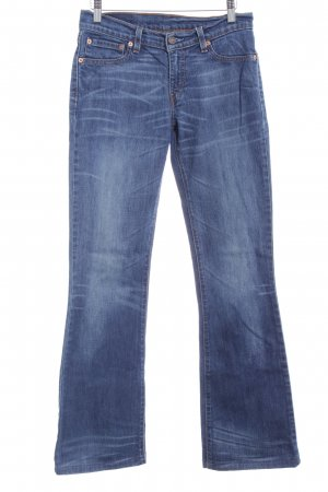 Levi's Boot Cut Jeans blau schlichter Stil