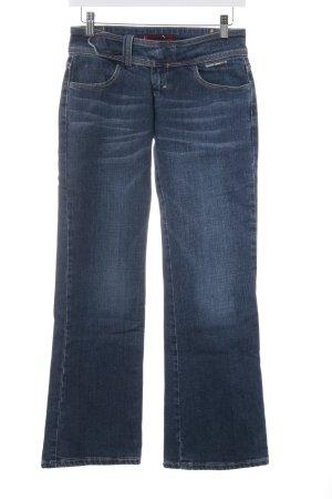 Levi's Boot Cut Jeans blau-stahlblau Hippie-Look