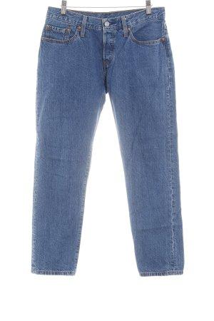 Levi's Boot Cut Jeans blau Washed-Optik