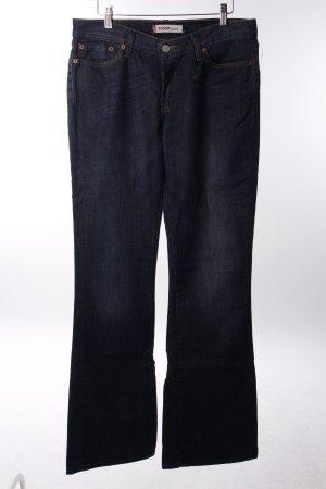 Levi's Boot Cut Jeans dunkelblau 70ies-Stil