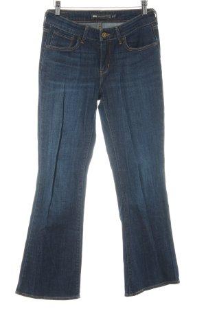 Levi's Jeans bootcut bleu foncé style décontracté