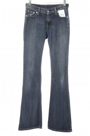 Levi's Boot Cut Jeans dunkelblau Casual-Look