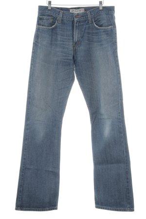 Levi's Jeans bootcut bleu foncé style délavé