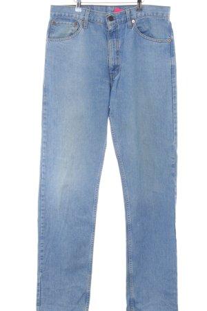 Levi's Boot Cut Jeans neon blue color gradient casual look
