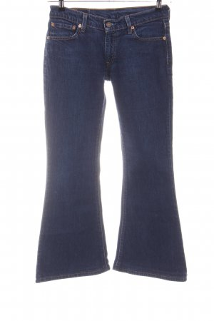 Levi's Boot Cut Jeans blau Casual-Look