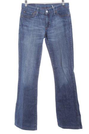 Levi's Boot Cut Jeans graublau-himmelblau schlichter Stil