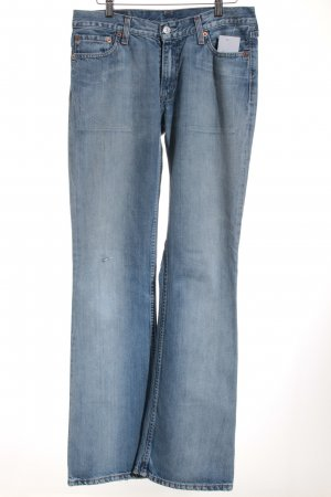Levi's Boot Cut Jeans hellblau Casual-Look