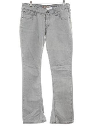 Levi's Boot Cut Jeans hellgrau-grau Casual-Look