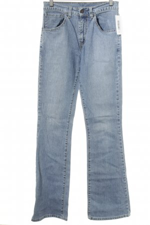 Levi's Jeans svasati blu fiordaliso stile casual