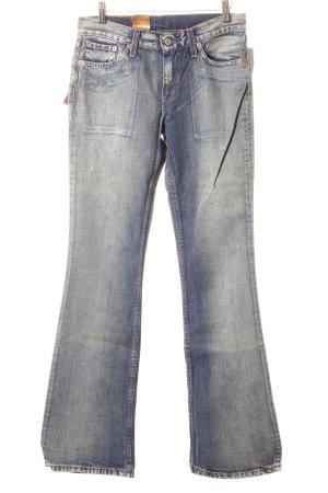 Levi's Boot Cut Jeans cornflower blue jeans look