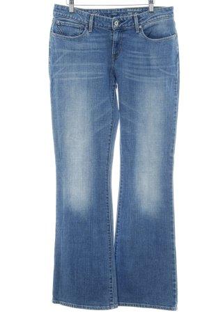 Levi's Boot Cut spijkerbroek staalblauw casual uitstraling