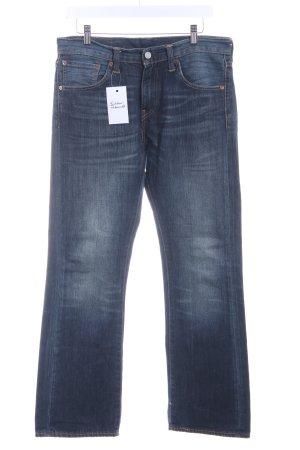 Levi's Jeans bootcut bleu acier style décontracté