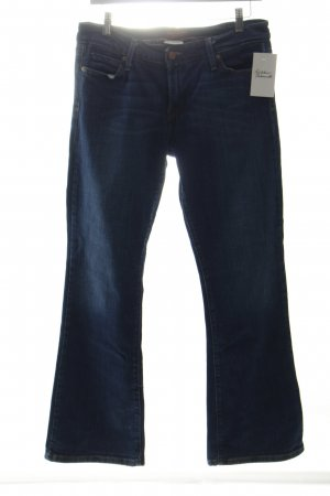 Levi's Boot Cut Jeans stahlblau Casual-Look