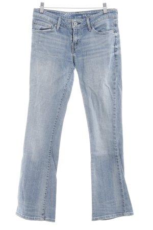 Levi's Boot Cut Jeans stahlblau-hellbeige Jeans-Optik