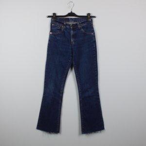 Levi´s Bootcut Jeans Gr. 27 blau High Waist (19/02/086)