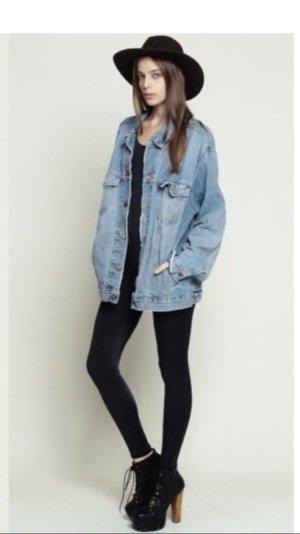 LEVI'S Boyfriend Style Jeans Jacke Gr. S
