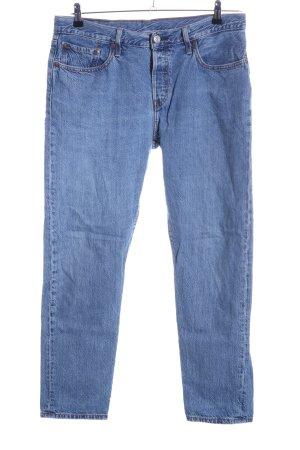 Levi's Boyfriend jeans blauw casual uitstraling