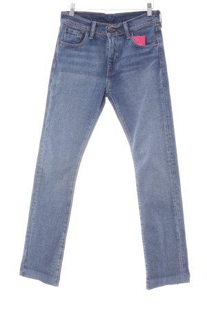 Levi's Boyfriend Jeans blue washed look