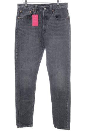 Levi's Jeans boyfriend gris style décontracté