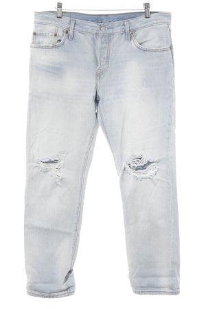 Levi's Jeans boyfriend azzurro stile boyfriend