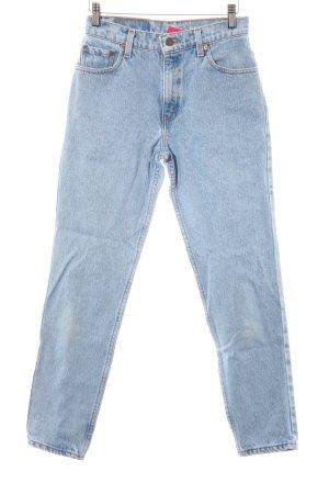 Levi's Boyfriend jeans azuur gewassen uitstraling