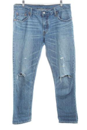 Levi's Jeans boyfriend bleuet style déchiré