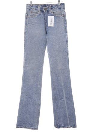 Levi's Boyfriendjeans kornblumenblau-himmelblau Vintage-Look