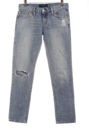 Levi's Boyfriendjeans kornblumenblau Jeans-Optik
