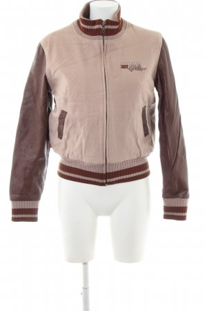 Levi's College jack bruin-wolwit casual uitstraling
