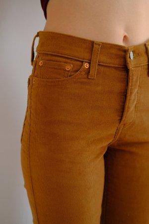 Levi's 7/8 Length Trousers multicolored cotton