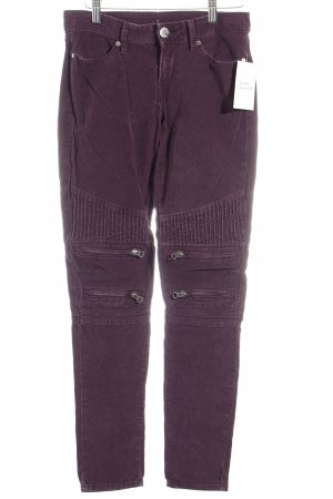 Levi's Corduroy Trousers dark violet casual look