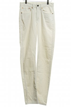 Levi's Pantalon en velours côtelé beige clair style décontracté