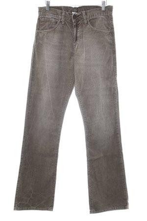 Levi's Pantalone di velluto a coste marrone chiaro look pulito