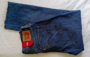 Levi's Jeans 7/8 bleu pâle-bleu coton